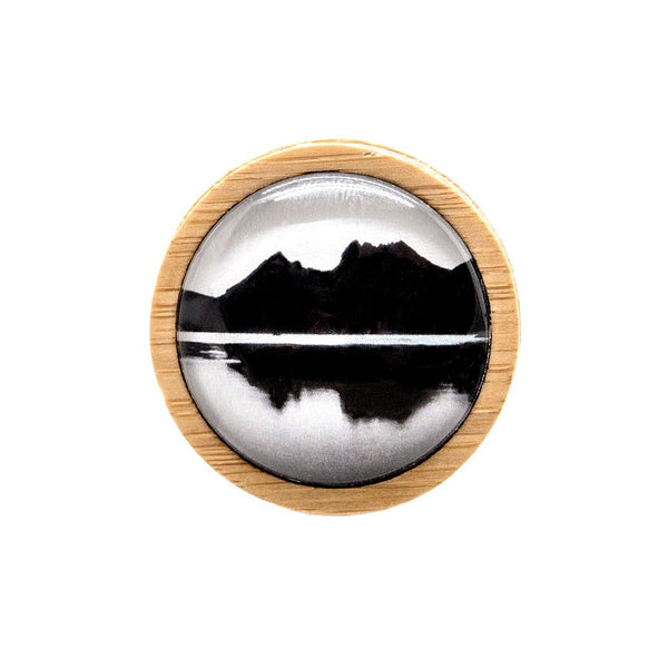 Cradle Mountain - Brooch - Myrtle & Me