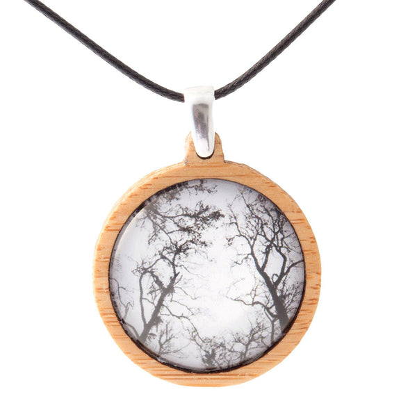 Gum Trees After Fire - Pendant (Medium)-Pendant-Myrtle & Me