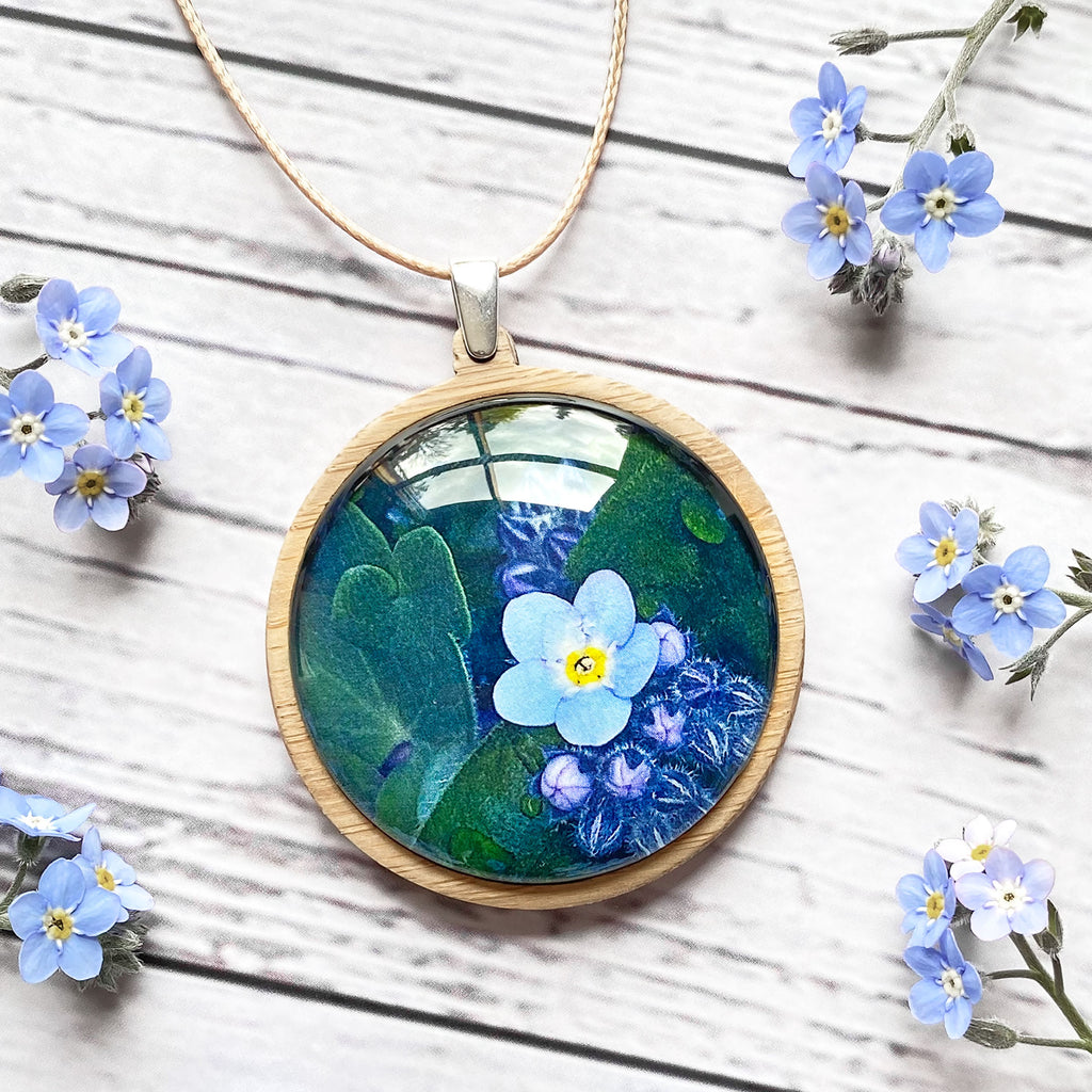 Forget Me Not - Pendant (Large)