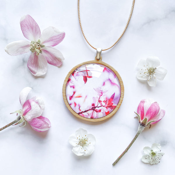 Pink Blossom - Pendant (Large)