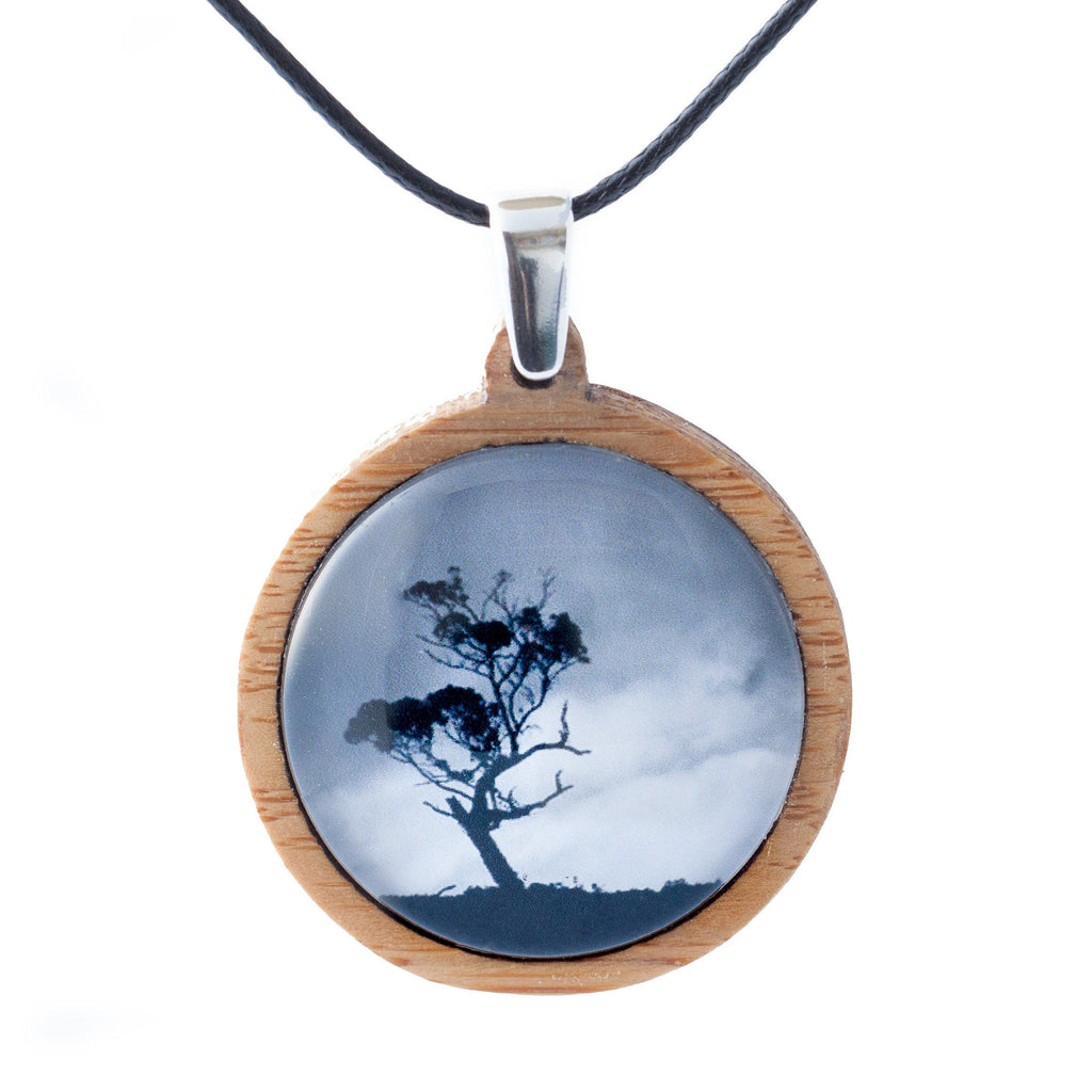 Gum Tree - Pendant (Medium)-Pendant-Myrtle & Me
