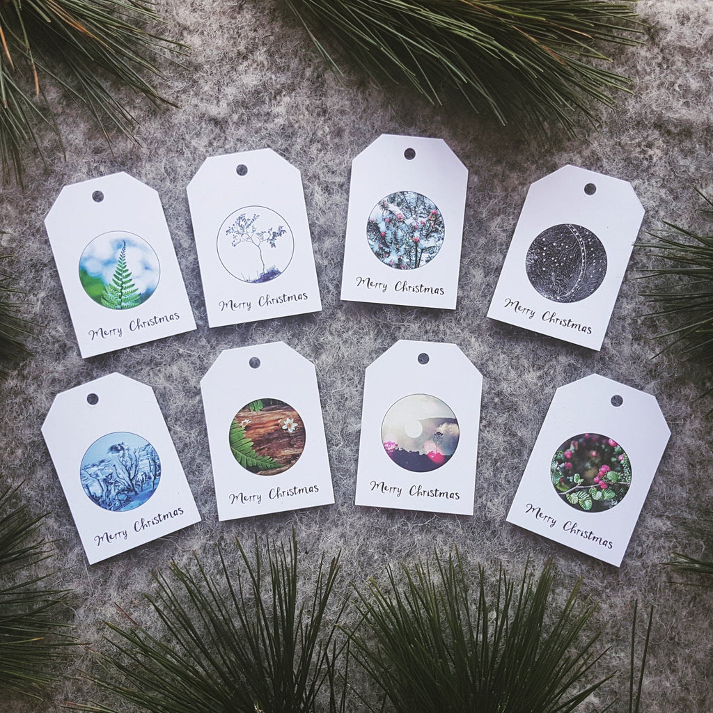 Christmas Gift Tags, Set of 8 - Myrtle & Me