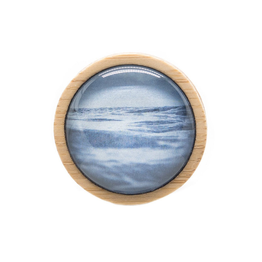 Sea & Sky - Brooch - Myrtle & Me
