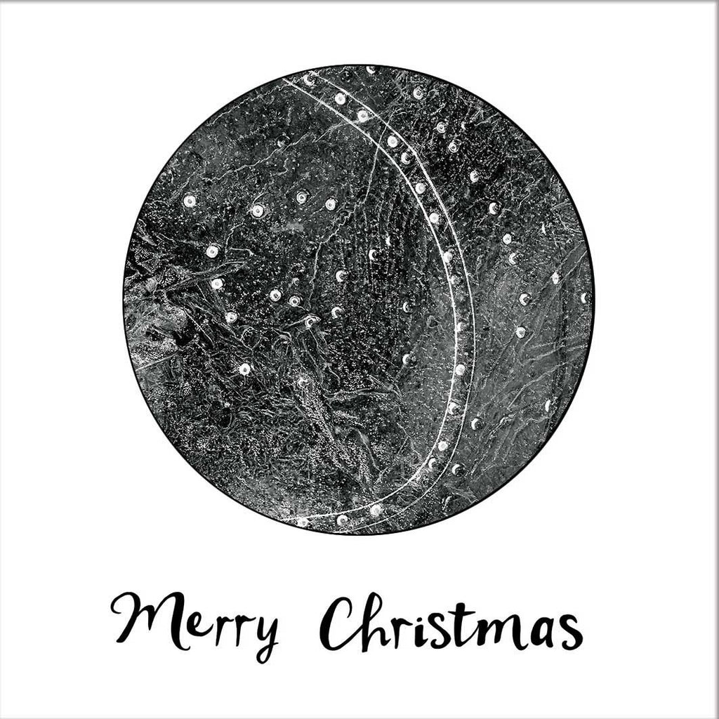 Patterns In The Ice - Christmas Card-Card-Myrtle & Me