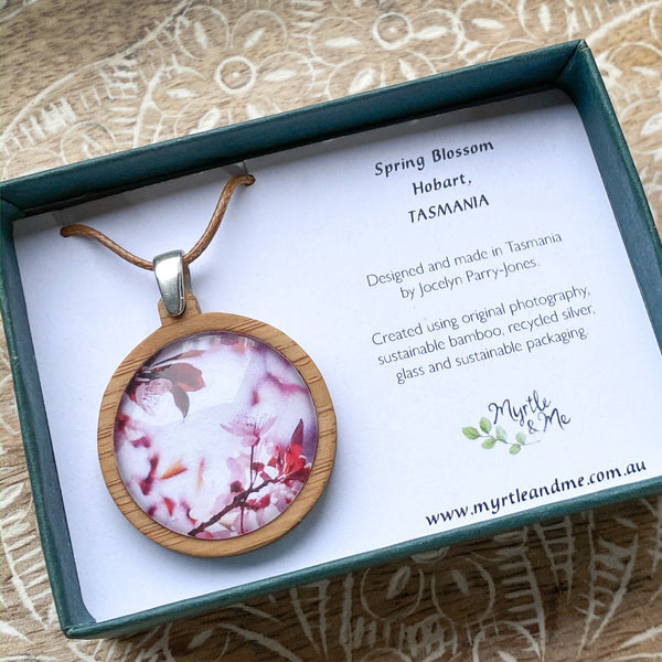 Pink Blossom - Pendant (Medium)