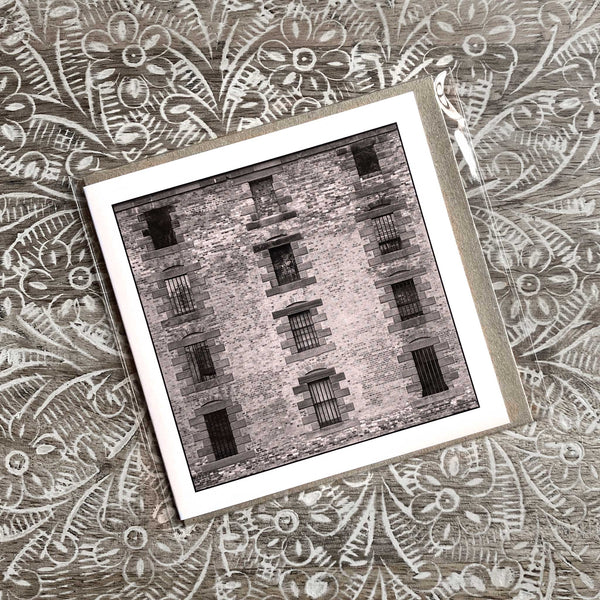 Prison Cell Windows - Greeting Card