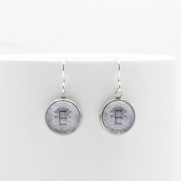 Prison Cell Window - Drop Earrings