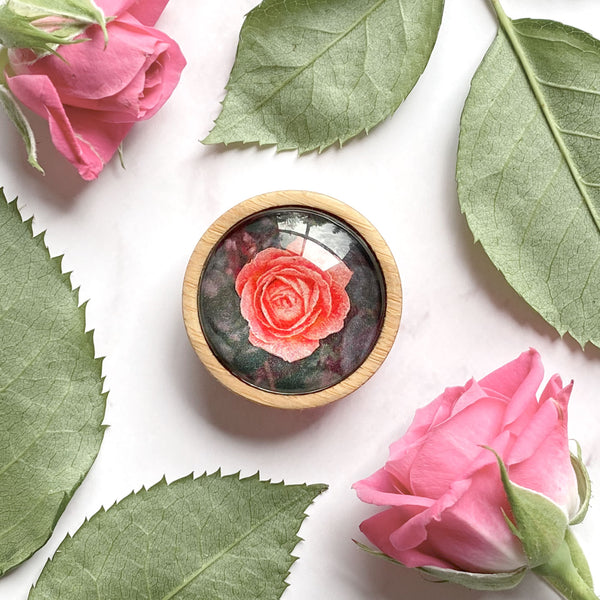 Rose - Brooch