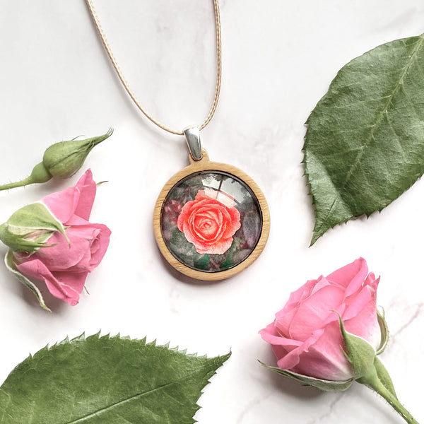 Rose - Medium Pendant