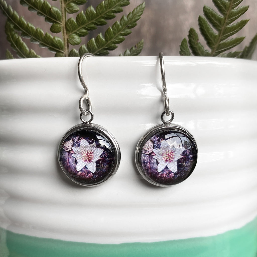 Sassafras Flower - Drop Earrings-Earrings-Myrtle & Me