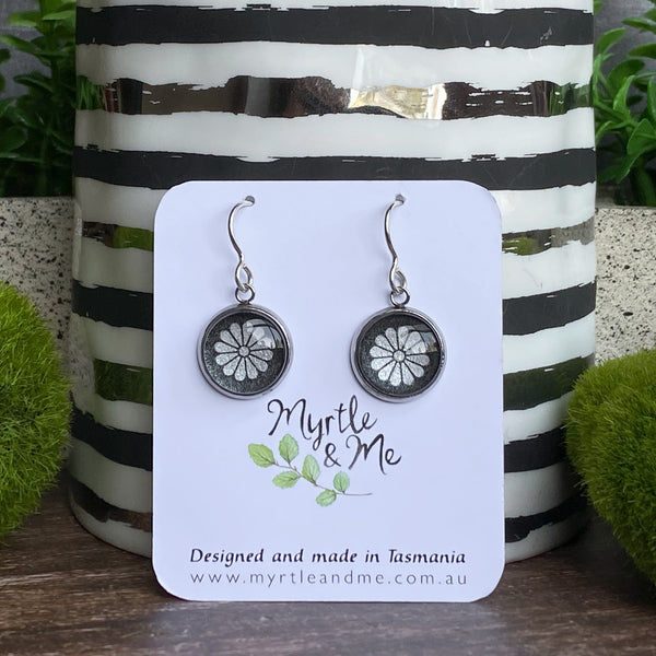 Separate Prison Chapel Window - Drop Earrings-Earrings-Myrtle & Me