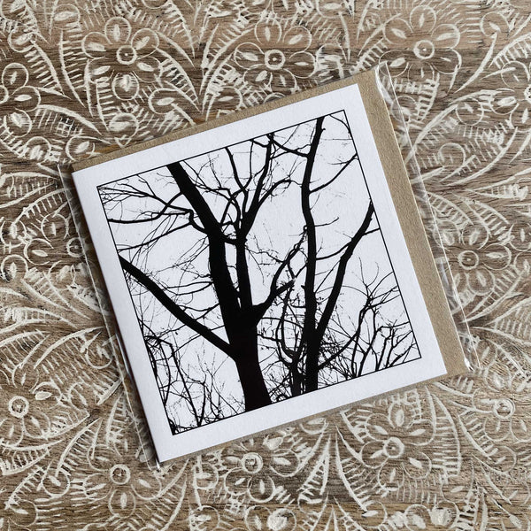 Winter Trees - Greeting Card-Card-Myrtle & Me