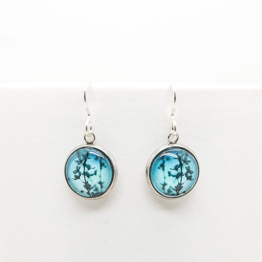 Blue Blossom - Drop Earrings - Myrtle & Me