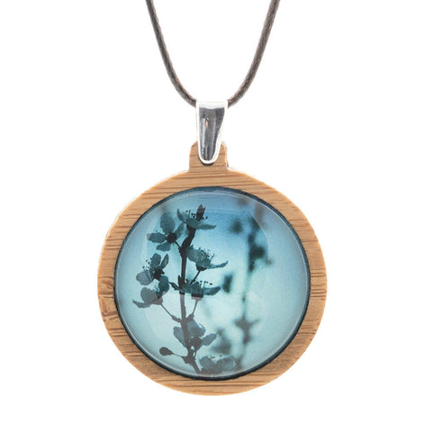 Blue Blossom - Pendant (Medium)