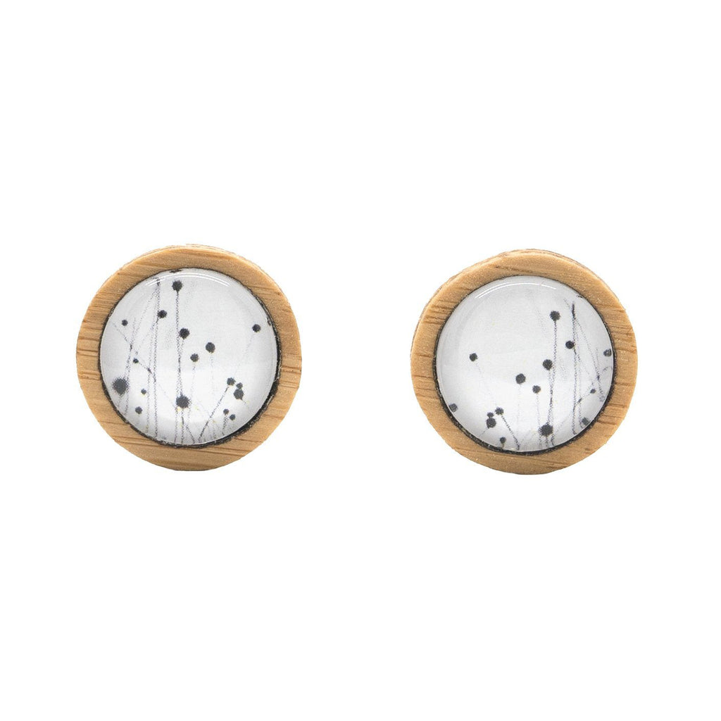 Buttongrass - Stud Earrings-Earrings-Myrtle & Me