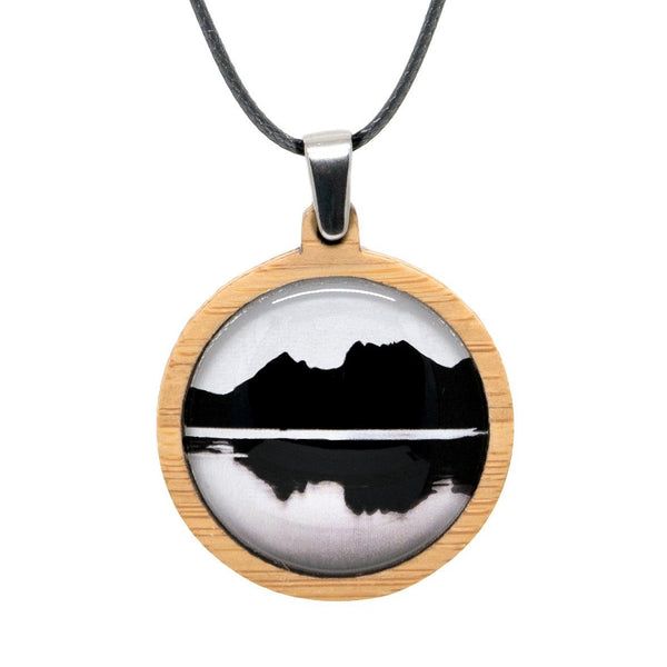 Cradle Mountain - Pendant (Medium) - Myrtle & Me