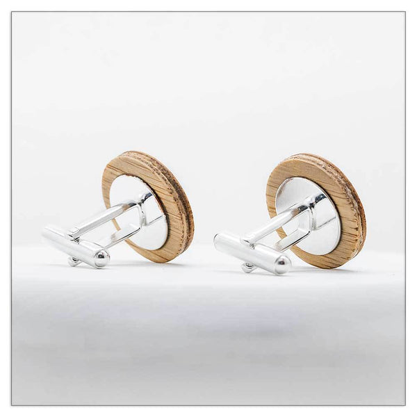 Tea Tree - Cufflinks-Cufflinks-Myrtle & Me