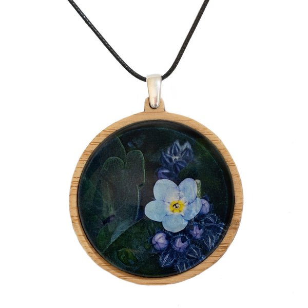 Forget Me Not - Pendant (Large) - Myrtle & Me