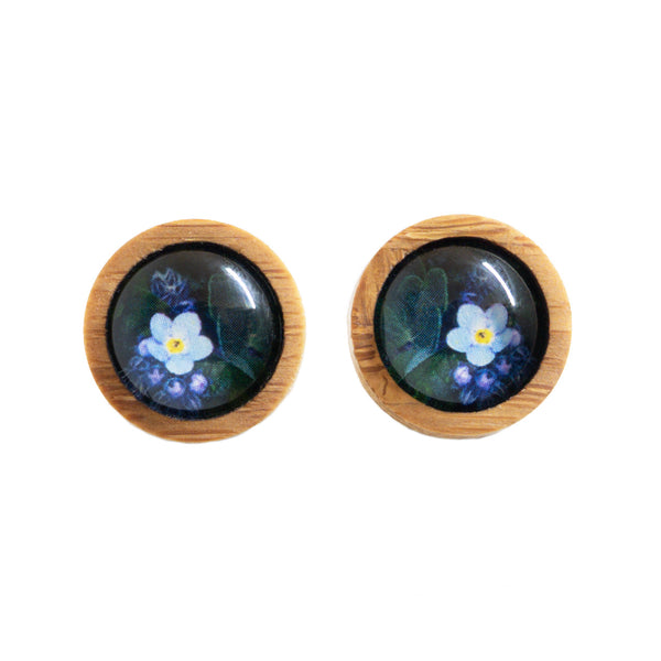 Forget Me Not - Stud Earrings-Earrings-Myrtle & Me