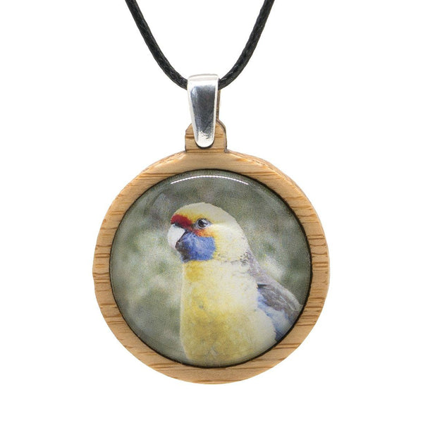 Green Rosella - Pendant (Medium)