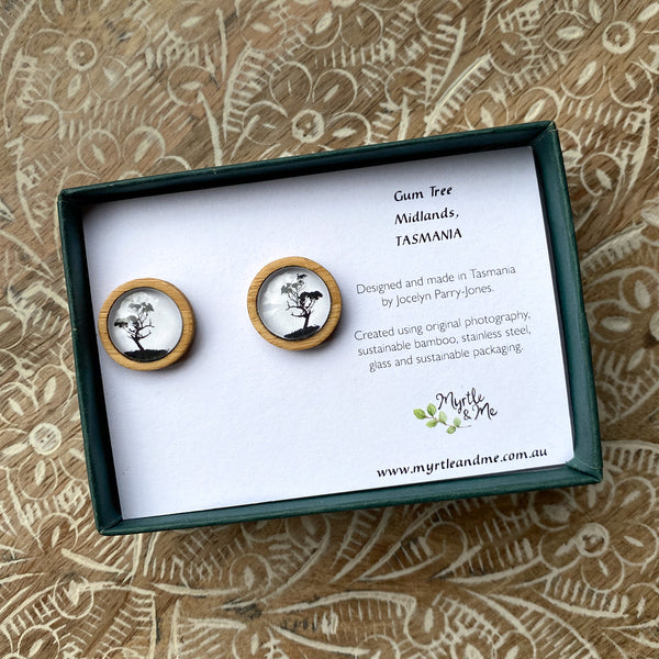 Gum Tree - Stud Earrings