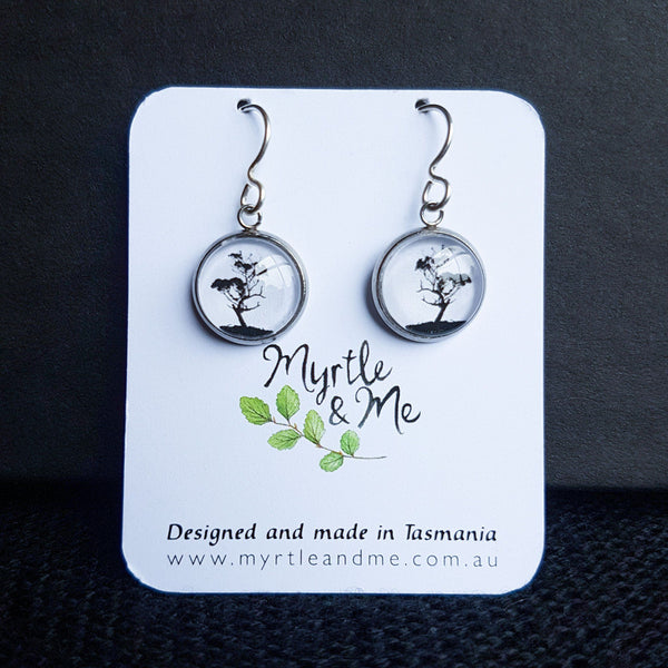 Gum Tree - Drop Earrings-Earrings-Myrtle & Me
