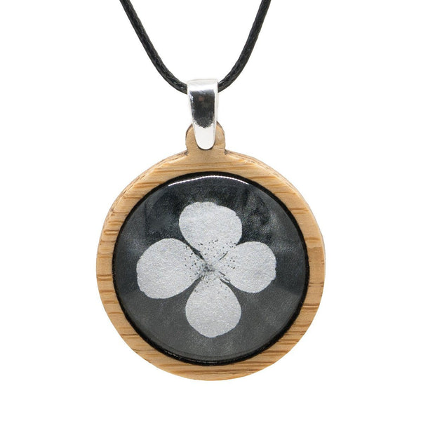 Leatherwood Flower - Pendant (Medium)-Pendant-Myrtle & Me