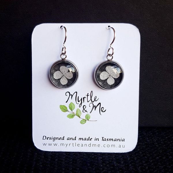 Leatherwood Flower - Drop Earrings-Earrings-Myrtle & Me
