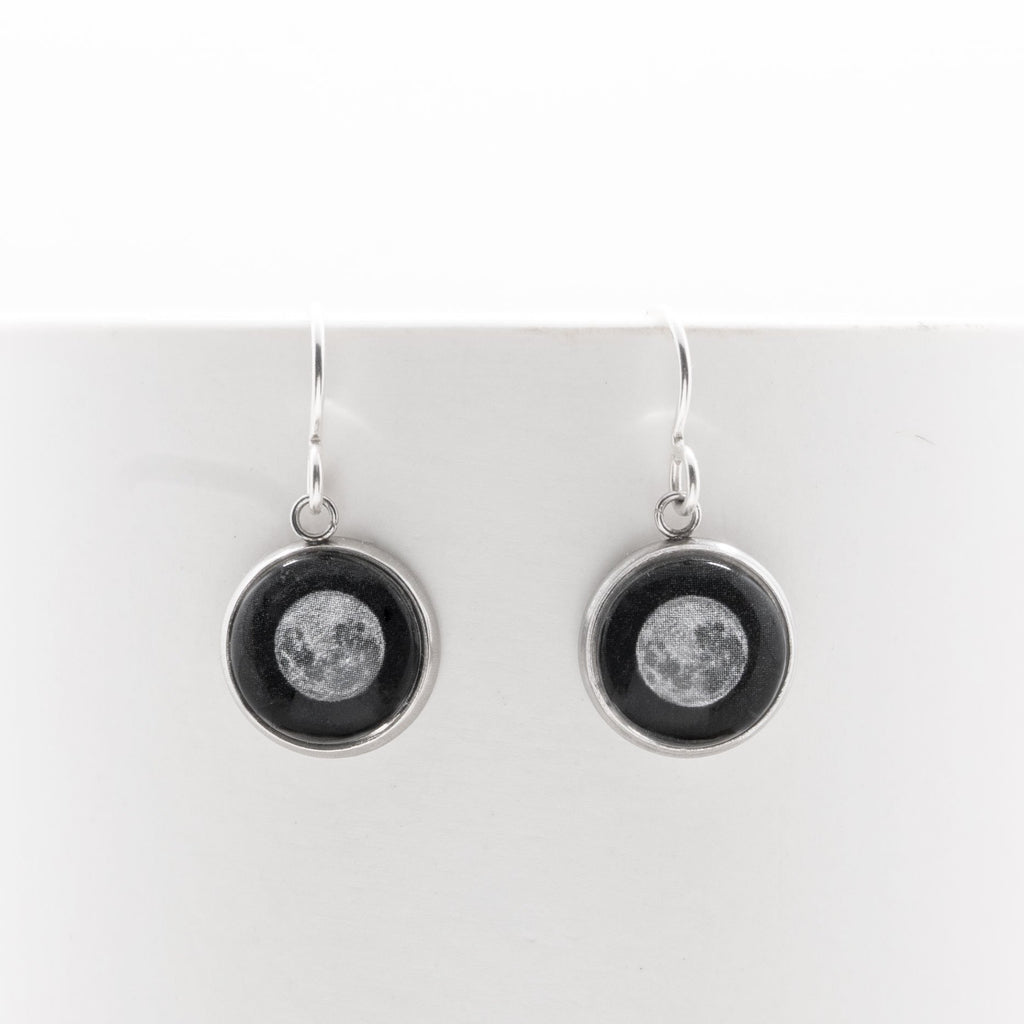 Supermoon - Drop Earrings