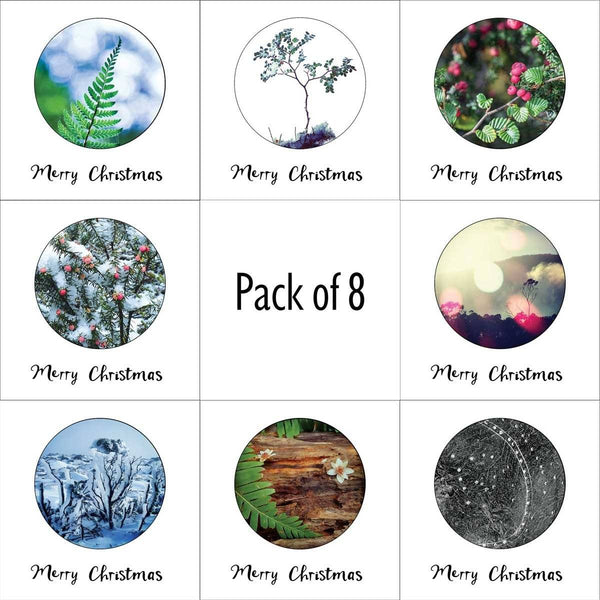 Pack of 8 Christmas Cards-Card-Myrtle & Me