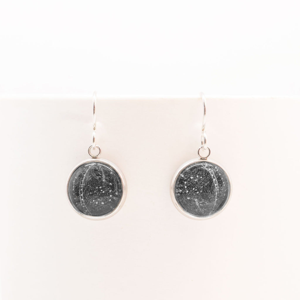 Patterns In The Ice - Drop Earrings-Earrings-Myrtle & Me