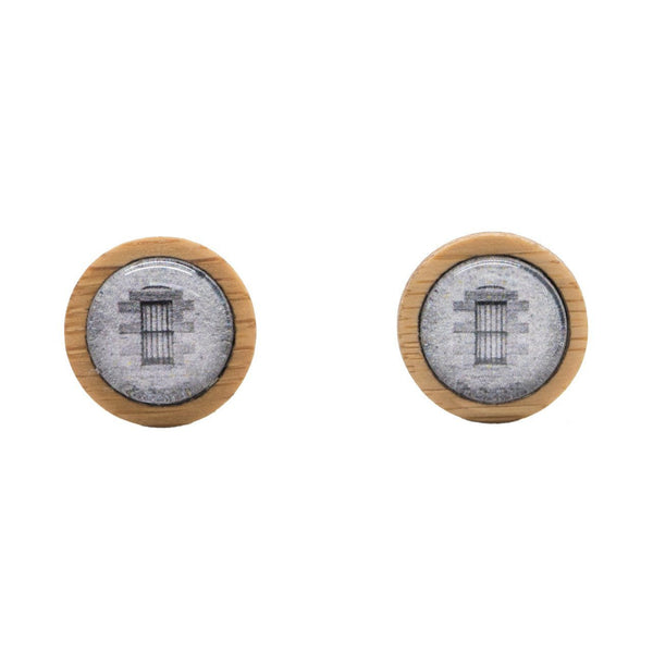 Prison Cell Window - Stud Earrings