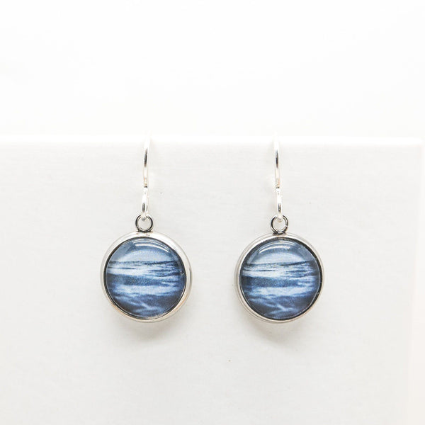 Sea & Sky - Drop Earrings