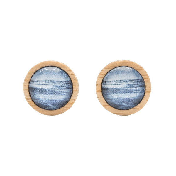 Sea & Sky - Stud Earrings
