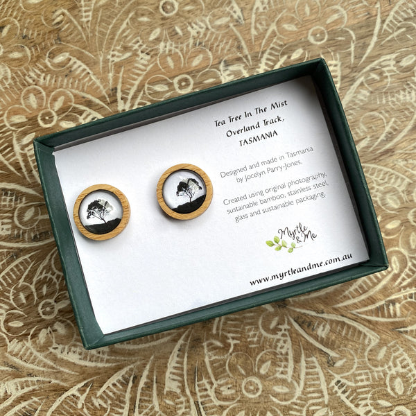 Tea Tree - Stud Earrings