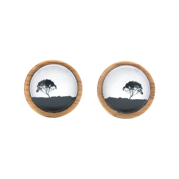 Tea Tree - Cufflinks - Myrtle & Me