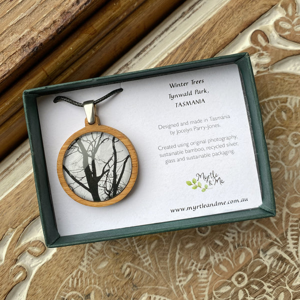 Winter Trees - Pendant (Medium)
