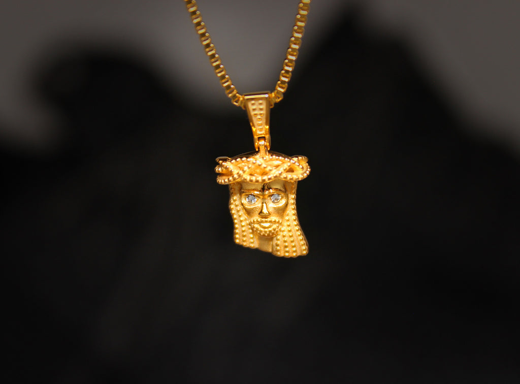 yellow gold jesus jewelry watches white shipping overstock product pendant g today free tdw diamond h
