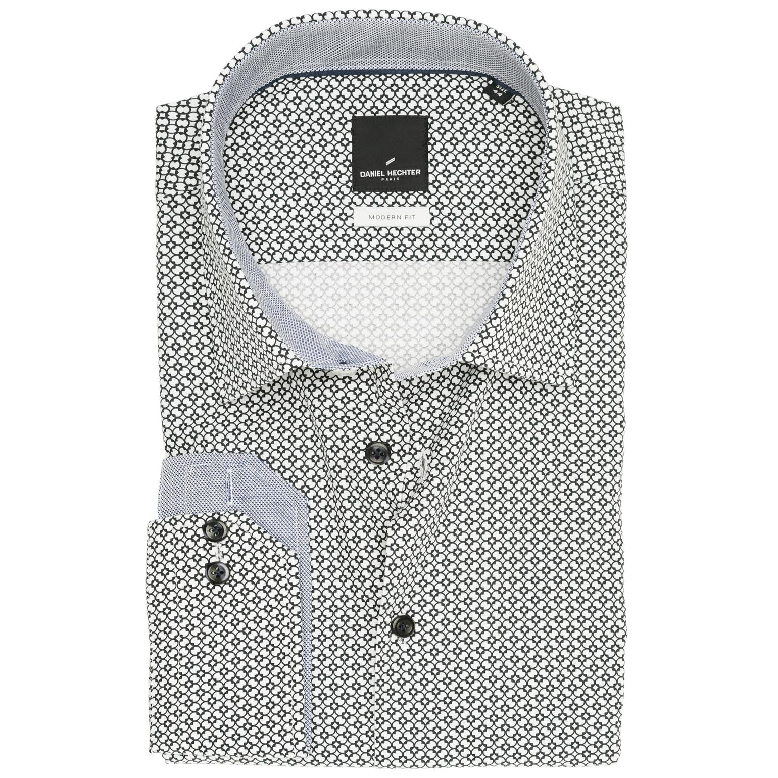 f942608161 DANIEL HECHTER Limited Edition Modern Fit Cosmo Fehér Fekete ...