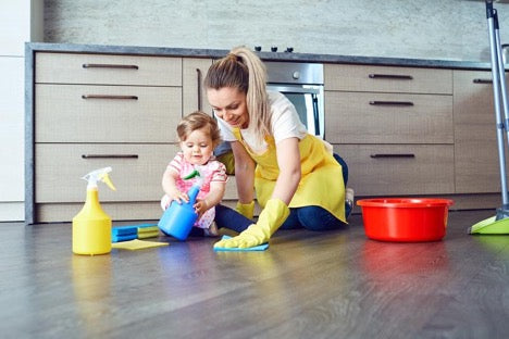 How to Tackle Spring Cleaning with a New Baby