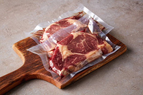 packed meats on a board