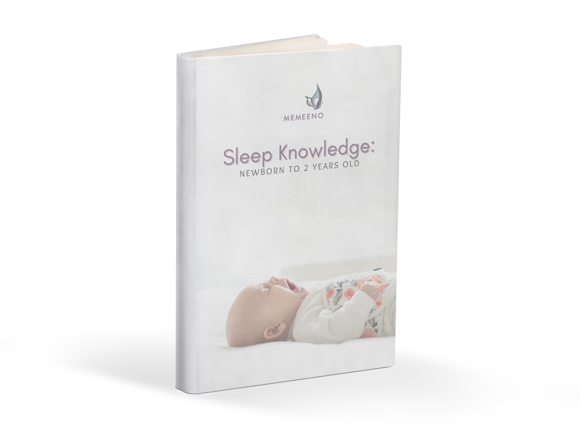 MEMEENO downloadable ebook Sleep Knowledge newborn to 2 years old