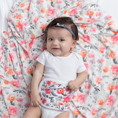Swaddle Bundle - Floral - MEMEENO