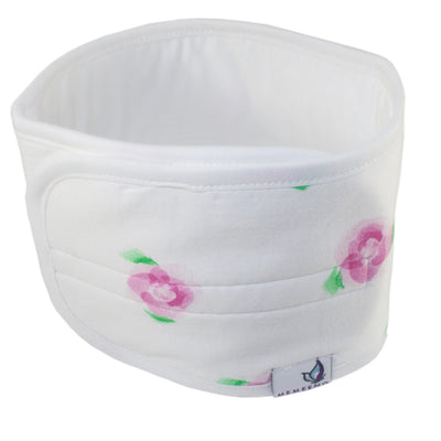 Baby Belly Band - Roses - MEMEENO baby belly band for infant gas and colic relief