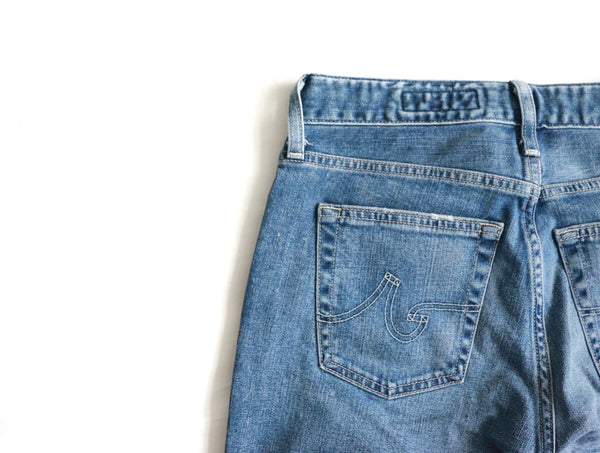 AG Jeans Casey Distressed 13 YEARS PORCELAIN BLUE