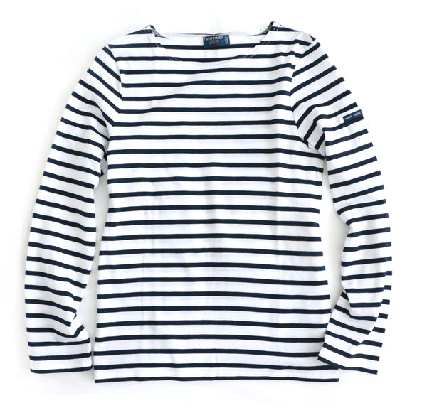 Saint James® T-shirt in Minquiers Moderne long sleeves