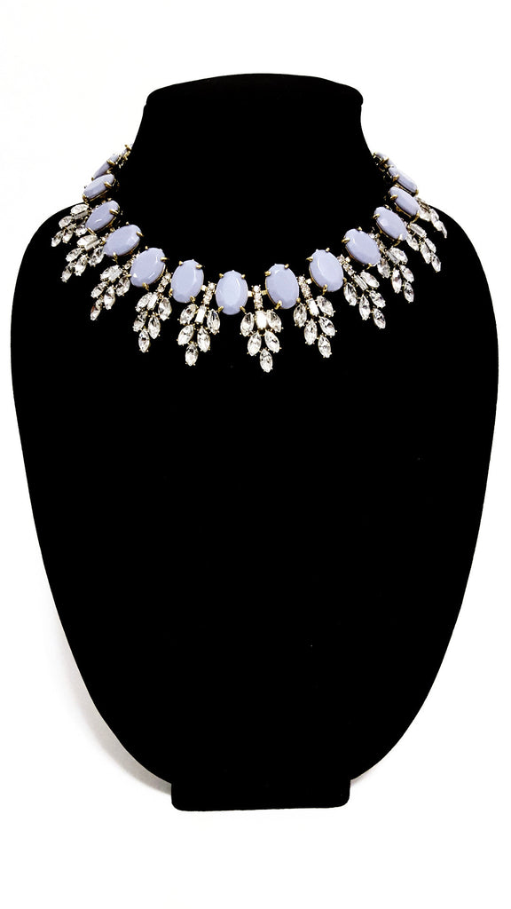 Pastel Grey 'Enchantress' Necklace