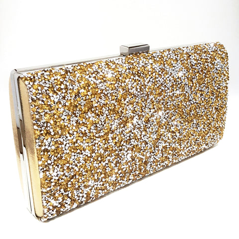 Gold 'Glamour' Clutch