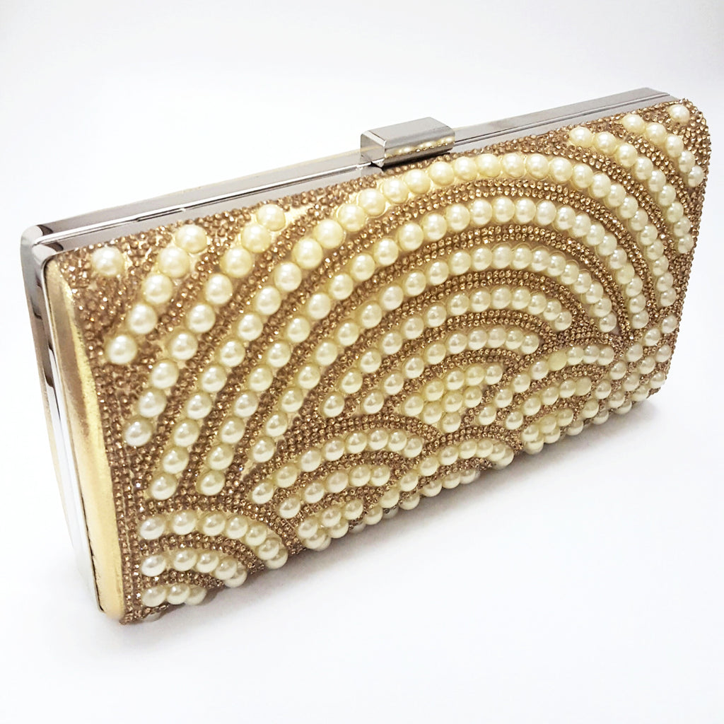Gold 'Royalty' Clutch