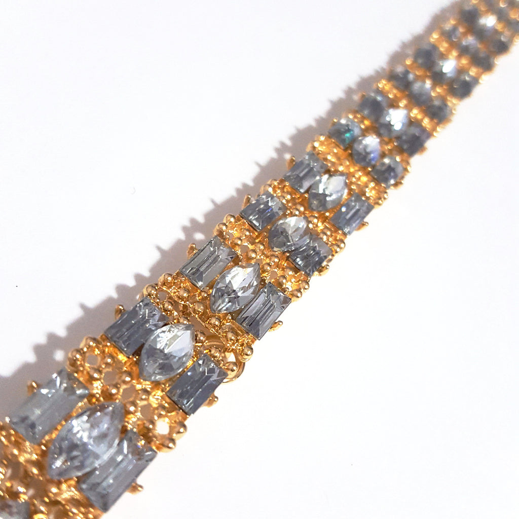 Gold 'Iced Out' Choker